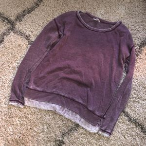 Purple Crew Small Aeropostale